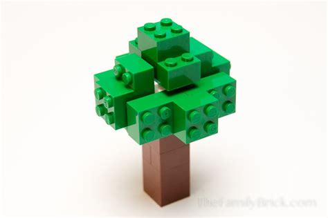 How Do You Make A Tree Out Of Paper - build a lego minecraft tree the family brick