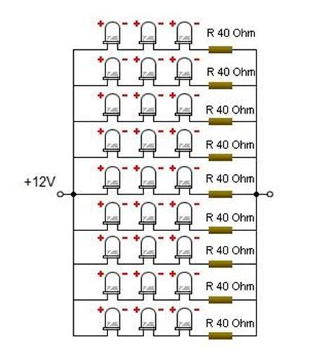 bola lu led aki 4watt rangkaian led dan resistor 28 images rumus mengitung
