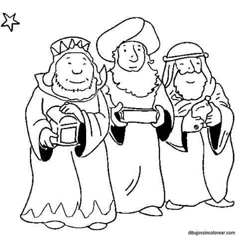 imagenes para pintar reyes magos dibujos de los reyes magos para colorear
