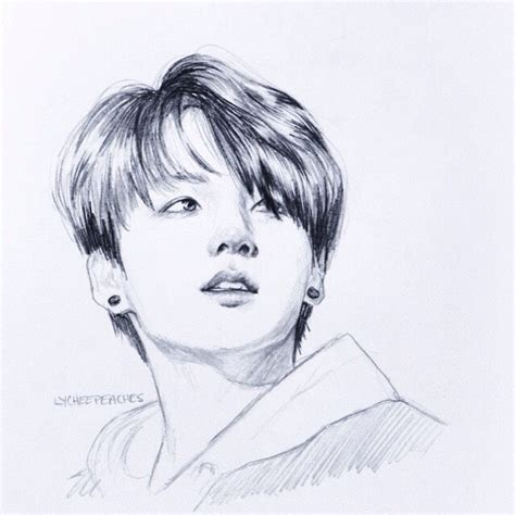 V Drawing Bts Easy by Drawings Of Bts Flashcards On Tinycards