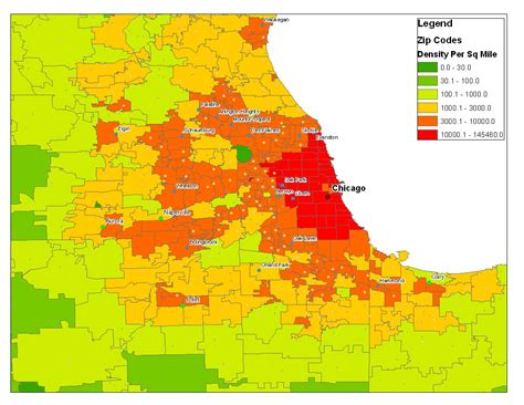 chicago map demographics zip code map chicago il images