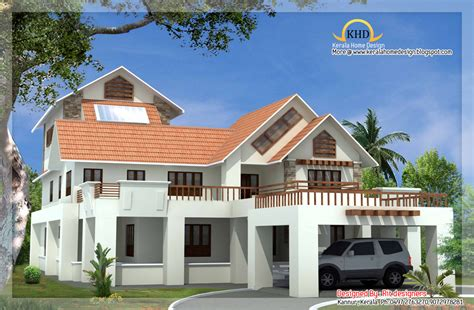 3 story houses beautiful luxury 3 story home elevation 5774 sq ft kerala home design and floor plans