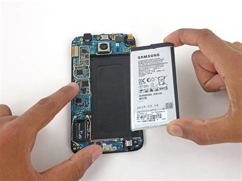 S6 Samsung Battery by Samsung Galaxy S6 Battery Replacement Ifixit Repair Guide