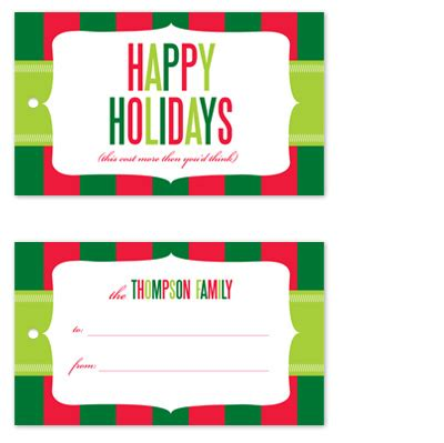 gift tags cost more at minted com