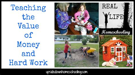 Parenting Teaching The Value Of Money by Real Homeschooling Teaching The Value Of Money And