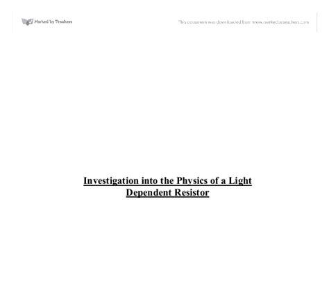 investigating light dependent resistors light dependent resistor investigation 28 images data harvest data harvest light sensor