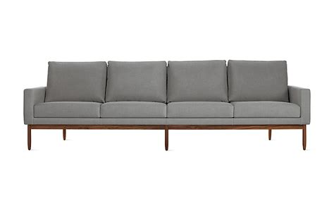 dwr sofa raleigh four seater sofa design within reach