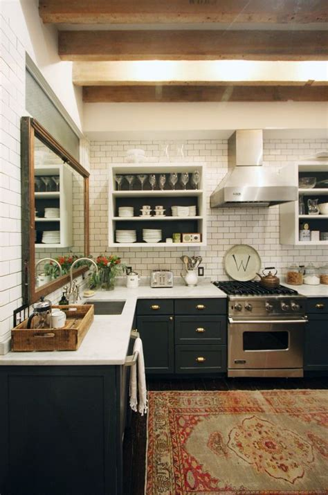 vintage kitchen tile backsplash vintage inspired countertops and subway tile backsplash
