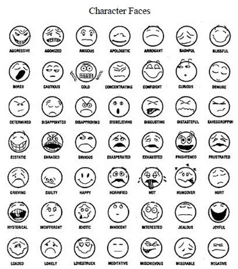Emotions Free Colouring Pages Emotions Coloring Page