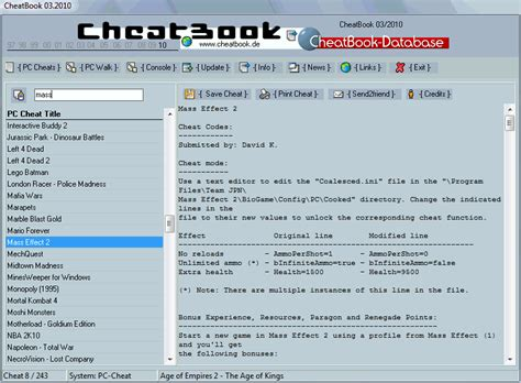 cheatbook 01 2008 issue january 2008 a cheat code tracker with page 6 of tools editors software games tools editors