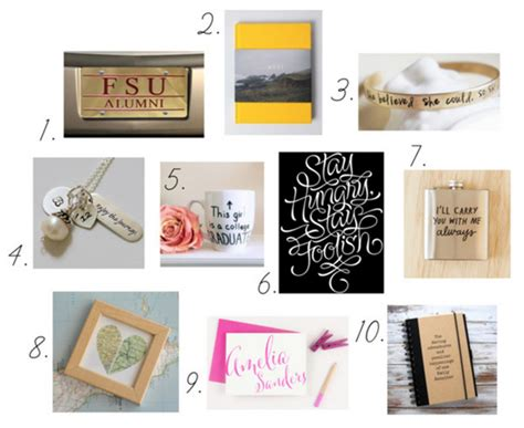 10 graduation gift ideas college fashion
