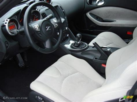 custom nissan 370z interior gray leather interior 2010 nissan 370z touring coupe photo