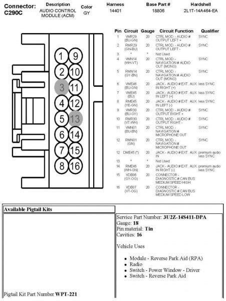 Kenwood 16 Pin Wiring Harness Diagram
