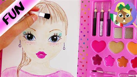 libro models close up make up challenge libro para colorear topmodel 191 se puede colorear solo con maquillaje youtube