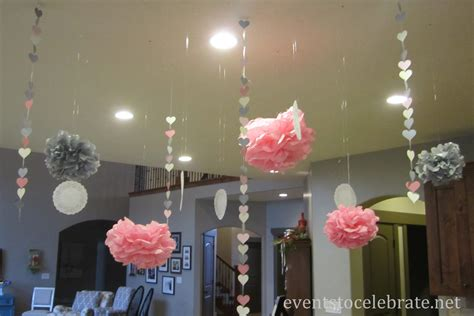 wedding shower decorations romantic decoration