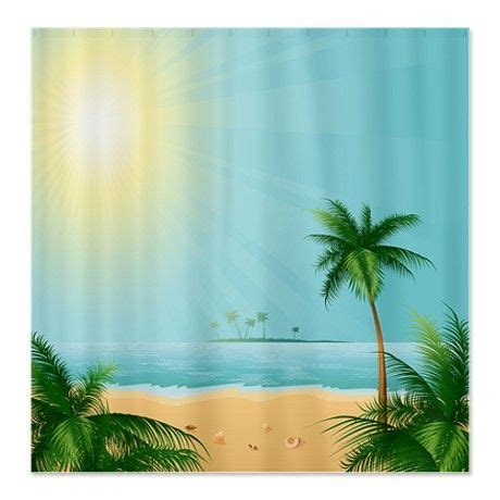 tropical beach shower curtains pinterest discover and save creative ideas