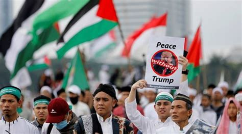 donald trump israel indonesia indonesia clerics want boycott of us products over