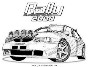 Rally Auto Zum Ausmalen by Seat Rally Gratis Malvorlage In Autos2 Transportmittel