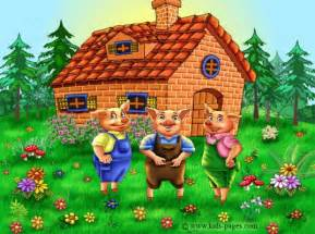 3 pigs houses brennaphillips