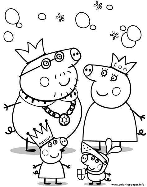 peppa pig cartoon coloring pages cartoon peppa pig coloring pages printable