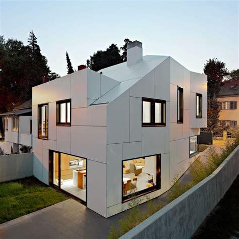 neat house designs modern family house boasting an irregular geometric design by dva arhitekta freshome com