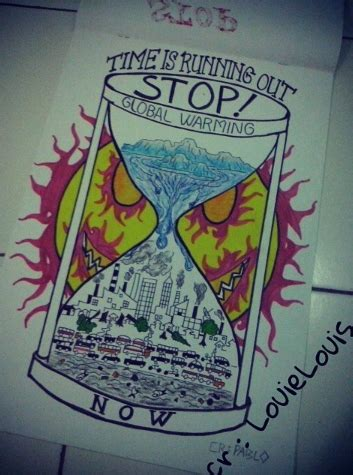 Stop Global Warming 2 manual drawing stop global warming part 2 by