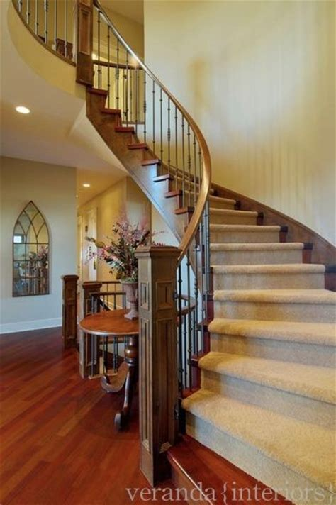 different types of staircases hi what size is the foyer room where these stairs are we