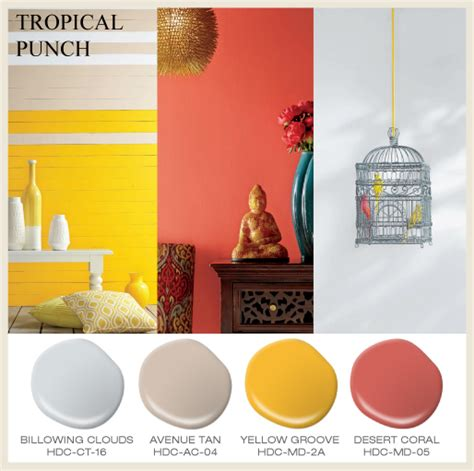 home depot paint brochures colorfully behr hdc summer colors