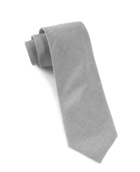 light grey tie light grey solid cotton tie ties bow ties and pocket