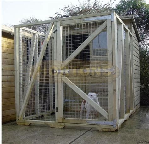 Cabin Kennel by Log Cabins Kennels