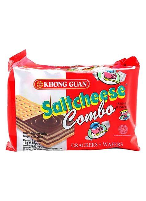 khong guan crackerswafer saltcheese combo pck xg