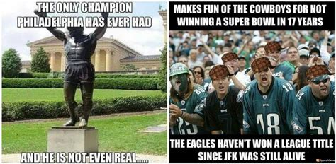 Eagles Memes - they booed santa claus this week s disses from dallas