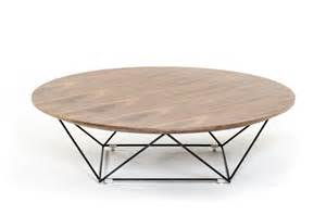 Walnut Coffee Table Set Modrest Spoke Modern Walnut Coffee Table Coffee Tables