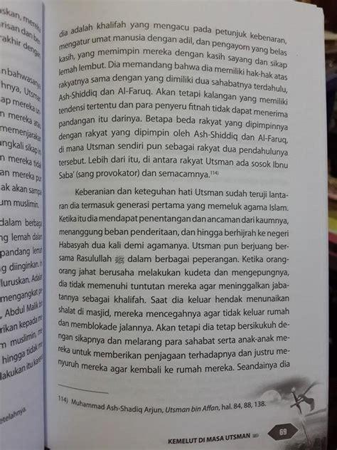 Serial Buku Anak Kisah 10 Sahabat Nabi Yang Dijamin Masuk Surga buku kemelut di masa utsman bin affan toko muslim title