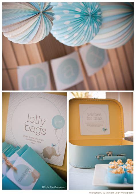 boy baby shower elephant theme party decor pinterest baby boy elephant naming party baby shower ideas
