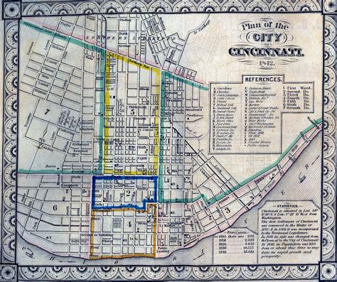 maps cincinnati cincinnati historical maps of cincinnati
