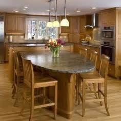 lovely Kitchen Islands With Tables Attached #1: 188573ec1fc1d8087b852032bcd0a9d5.jpg