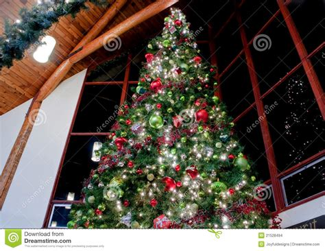 who has the biggest indoor christmas tree large indoor decorated tree stock photo image 21528494