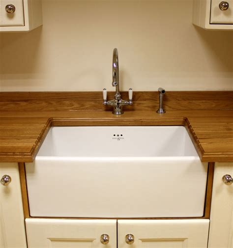 Wooden Kitchen Sink by How To Choose Sinks And Taps For Solid Oak Kitchens Part 1
