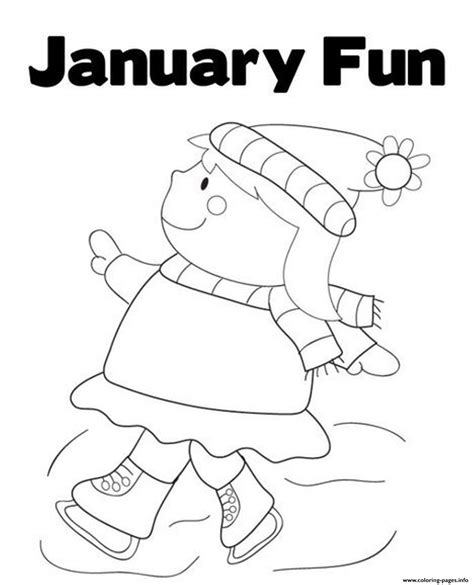 january coloring pages to print winter s printable january fund743 coloring pages printable