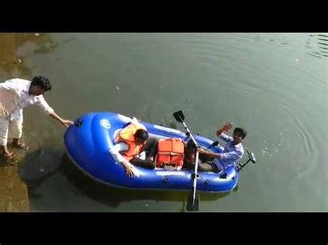 aqua marina inflatable fishing boat wild river inflatable boat wild river in ratnagiri youtube
