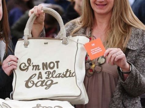 How To Get Anya Hindmarchs I Am Not A Plastic Bag Tote by Lined Unlined