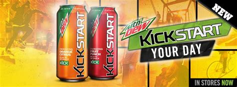 Xenergy Energy Drink Kicks And Punches Its Way Onto by Kickstart Now Available In Orange Fruit Punch