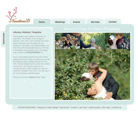 free wedding site templates free wedding website template free web templates all