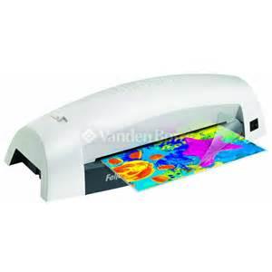fellowes home laminator a4 chez vanden borre comparez et