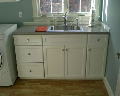 utility sink with cabinet and countertop interior laundry sink with cabinet semi recessed vessel