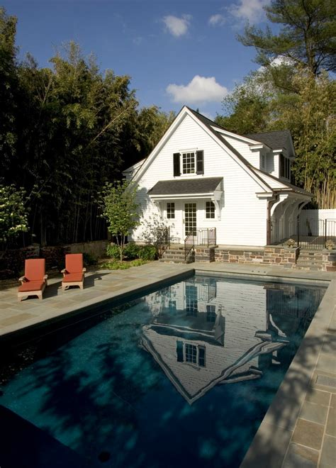 pool house garage carriage house designs pool traditional with 3 car garage