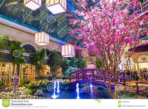Botanical Gardens Las Vegas Bellagio Hotel Conservatory Botanical Gardens Editorial Photography Image Of Fresh Bellagio