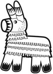 Pinata clipart free coloring pages of pi 241 ata