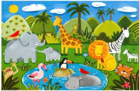 Imagenes Animales Jungla | animales de la jungla beb 233 s imagui